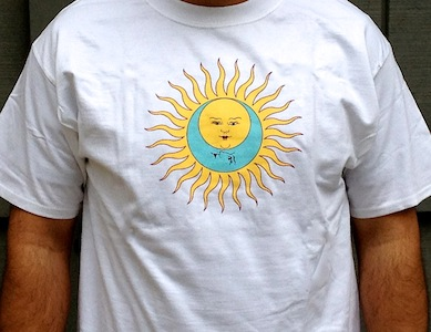 T-Shirt - Larks' Tongues in Aspic (white with no text)
