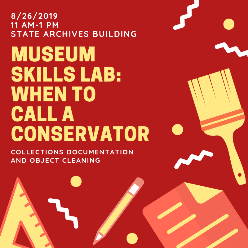 Museum Skills Lab: When to Call a Conservator THUMBNAIL