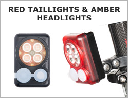Red Taillights & Amber Headlights