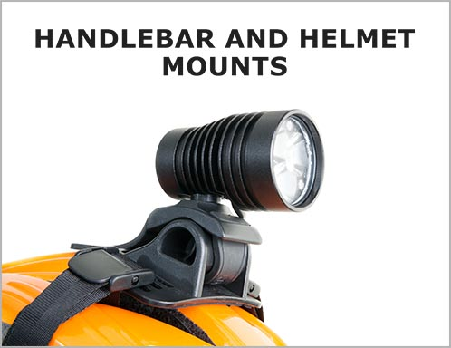 Handlebar and Helmet Mounts