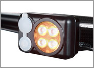 TRADE IN Quad Amber Headlight with built in battery