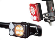 New 2017 Quad Amber Headlight with 2017 Quad Red Taillight Package