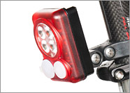 Trade in existing DiNotte LIght for Quad RED Taillight with built in battery for reduced pricing