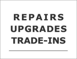 Repairs, Upgrades and Trade-ins