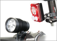 DiNotte XML-3 Headlight with QUAD RED Taillight