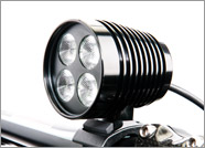 DiNotte XML-4 Headlight or choose XML-6