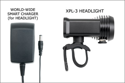 Trade in for XPL-3 Headlight with Built-In Battery