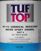 Tuf-top WT-113 Two-Part WB Epoxy