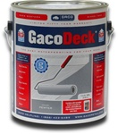 GacoDeck coating skid resistant surface on decks, boat docks, stair treads or wheel chair ramps and walkways.