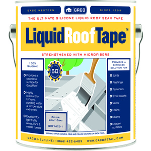 LiquidRoofTape  will exhibit resistance to wear under light foot traffic.