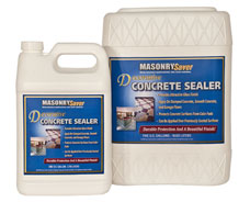 Decorative Concrete Sealer good for garage floors basement floors stamped concrete