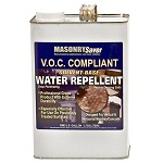 MasonrySaver VOC Compliant Solvent-Base Water Repellent is an effective penetrating water repellent