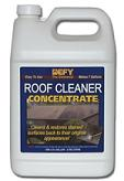 Defy Roof Cleaner Concentrate does not rely on chlorine bleach or sodium hydroxide.