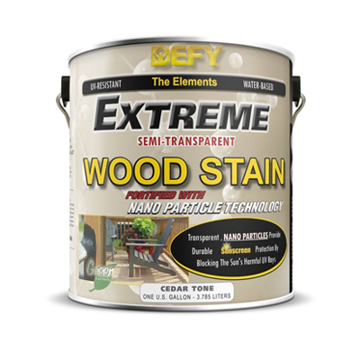 Defy Extreme Semi-Transparent Wood Stain Quailty that Last