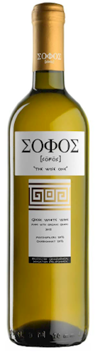 Sofos Greek White Wine 2018 THUMBNAIL