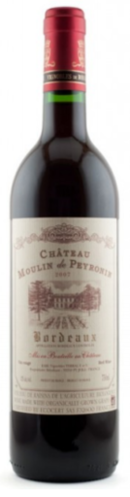 Chateau Moulin de Peyronin Bordeaux 2011