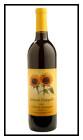 2009 Cabernet Sauvignon -  Girasole Vineyards