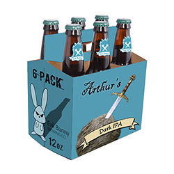 Arthur's Black IPA (6 Pack 12 oz Bottles) THUMBNAIL
