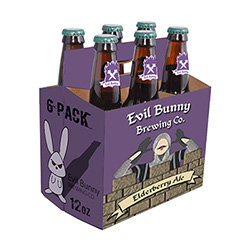 Elderberry Amber Ale (6 Pack 12 oz Bottles)