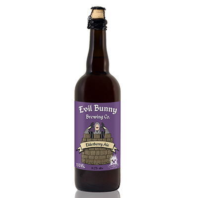 Elderberry Amber Ale (750 ml)