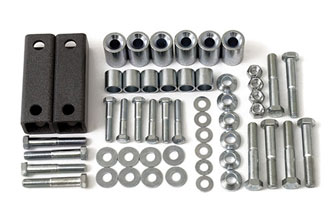 Fat Bob's Garage, BDS Part #124003, Jeep Wrangler YJ Transfer case lowering kit