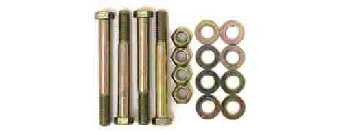 Fat Bob's Garage, BDS Part #124008, Jeep Wrangler YJ Leaf Spring Bolt Kit (both axles)