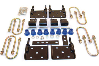 Fat Bob's Garage, BDS Part #124021, Jeep CJ /YJ Spring conversion kit