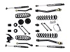 "Teraflex JK 2 Door 3"" Lift Kit w/ 4 FlexArms & 9550 Shocks"