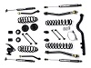 "Teraflex JK 2 Door 3"" Lift Kit w/ 4 FlexArms, Trackbar & 9550 Shocks"