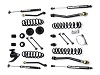 "Teraflex JK 2 Door 3"" Lift Kit w/ 4 FlexArms & 9550 Shocks - Right Hand Drive"
