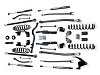 "Teraflex JK 2 Door 2.5"" Elite LCG Long FlexArm Lift Kit w/  9550 Shocks"