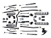 "Teraflex JK 2 Door 2.5"" Elite LCG Long FlexArm Lift Kit w/ 9550 Shocks - Right Hand Drive"