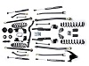 "Teraflex JK 2 Door 3"" Elite LCG Long FlexArm Lift Kit w/ 9550 Shocks"