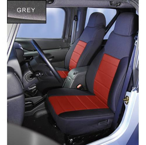 Jeep Tj Wrangler Neoprene Front Seat Covers 2003 2006