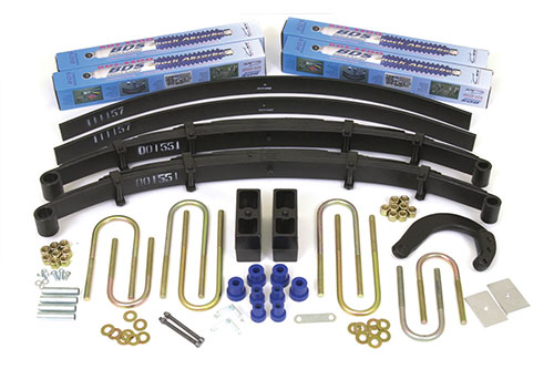 "Fat Bob's Garage, BDS Part #143h, Chevrolet/GMC Blazer, Jimmy, Suburban 6"" Lift Kit 1988-1991"