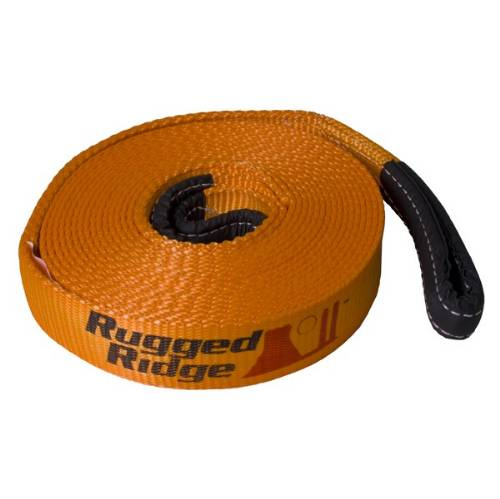 Fat Bob's Garage, Rugged Ridge, Part #15104.01, Recovery Strap 3X30 30,000LBS, Universal Application