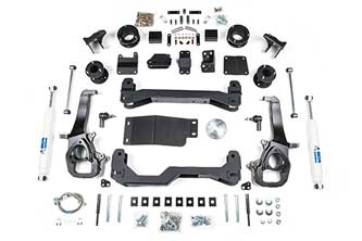 Dodge ram 1500 4 air ride suspension lift kit 4wd 2014 2016 publicscrutiny Image collections