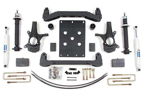 "Fat Bob's Garage, BDS Part #174h, Chevrolet/GMC 1500 Pickup 6"" High Clearance System 2007-Present"