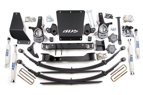 "Fat Bob's Garage, BDS Part #179h, Chevrolet/GMC 1500 Pickup 6.5"" Suspension Lift Kit 4WD 1999-2006"