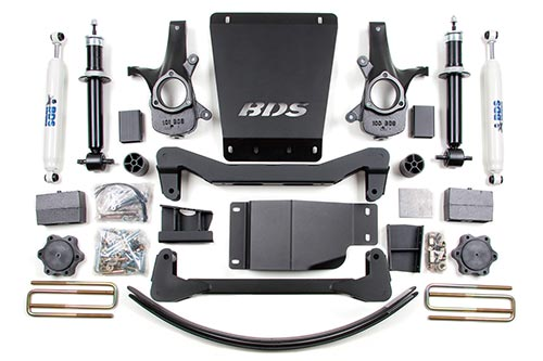 "Fat Bob's Garage, BDS Part #184h, Chevrolet/GMC 1500 Pickup 4WD 4"" High Clearance System 2007-Present"