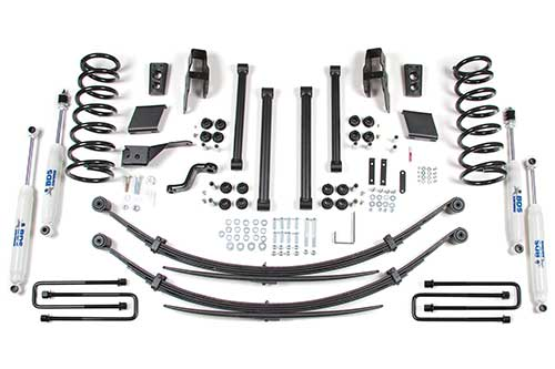 "Fat Bob's Garage, BDS Part #251H, Dodge Ram 1500 5"" Front 4.5"" Rear Suspension System 2000-2001"