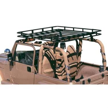 Fat Bob's Garage, Wilderness Part #34006, Off Road Series TJ Roll Bar Rack