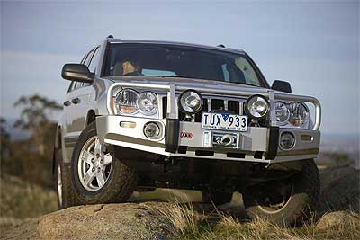 Jeep Grand Cherokee Wk Heavy Duty Arb Front Winch Bumper