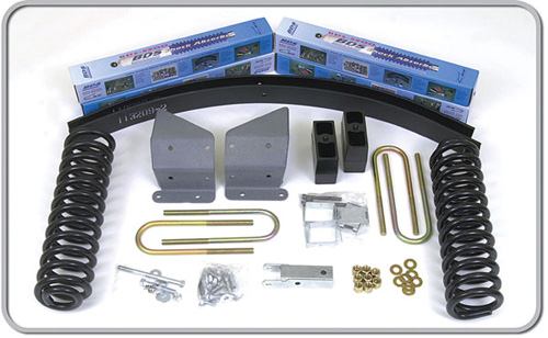 "Fat Bob's Garage, BDS Part #370H, Ford F100/F150 4"" Front 3"" Rear Suspension System 4WD 1973-1979"