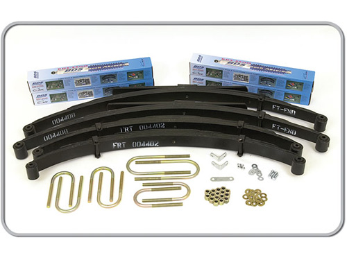 "Fat Bob's Garage, BDS Part #403H, Jeep 4"" Front 3"" Rear Lift Kit 1974-1990"
