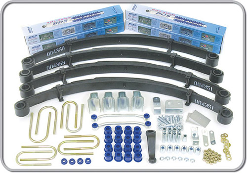"Fat Bob's Garage, BDS Part #409H, Jeep Wrangler YJ 3.5"" Front 3.5"" Rear Lift Kit 1987-1995"