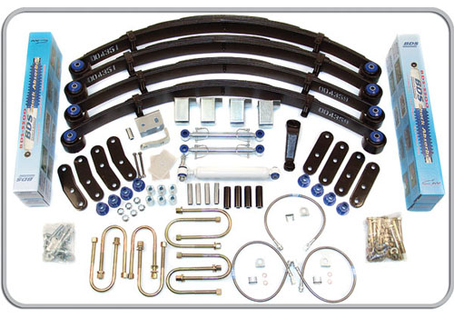 "Fat Bob's Garage, BDS Part #411H,Jeep Wrangler YJ 4.5"" Front 4.5"" Rear Lift Kit 1987-1995"