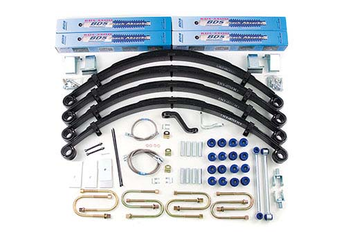 "Fat Bob's Garage, BDS Part #1431H, Jeep Wrangler YJ 5"" Front 5"" Rear Lift Kit 1987-1995"
