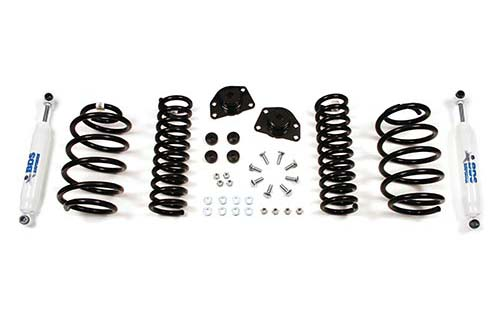 "Fat Bob's Garage, BDS Part #442H ,Jeep Liberty KJ 2"" Front 1.5"" Rear Lift Kit 2002-2007"
