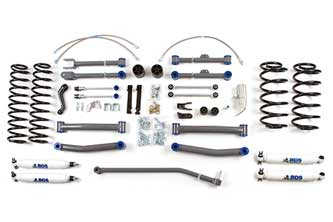 "Fat Bob's Garage, BDS Part #456H, Jeep Wrangler TJ Unlimited/Rubicon 4.5"" Front 4.5"" Rear Lift Kit 2003-2006"